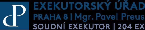 EXEKUTORSKÝ ÚŘAD PRAHA 8 - Mgr. Pravel Preus - SOUDNÍ EXEKUTOR 204 EX
